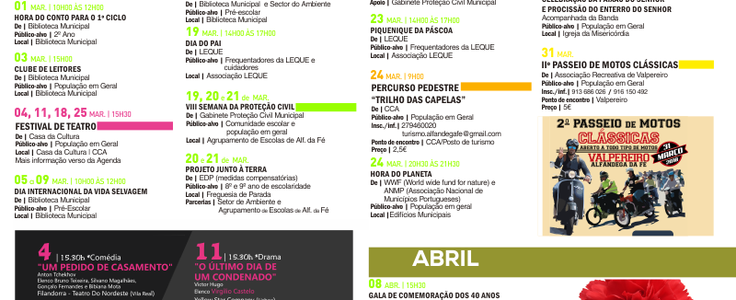 Agenda mar o abril 2018 e mail 1 736 300